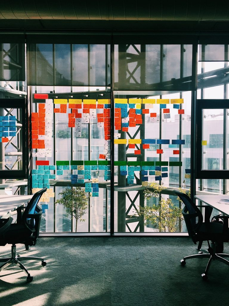 Darstellung eines agilen Büros