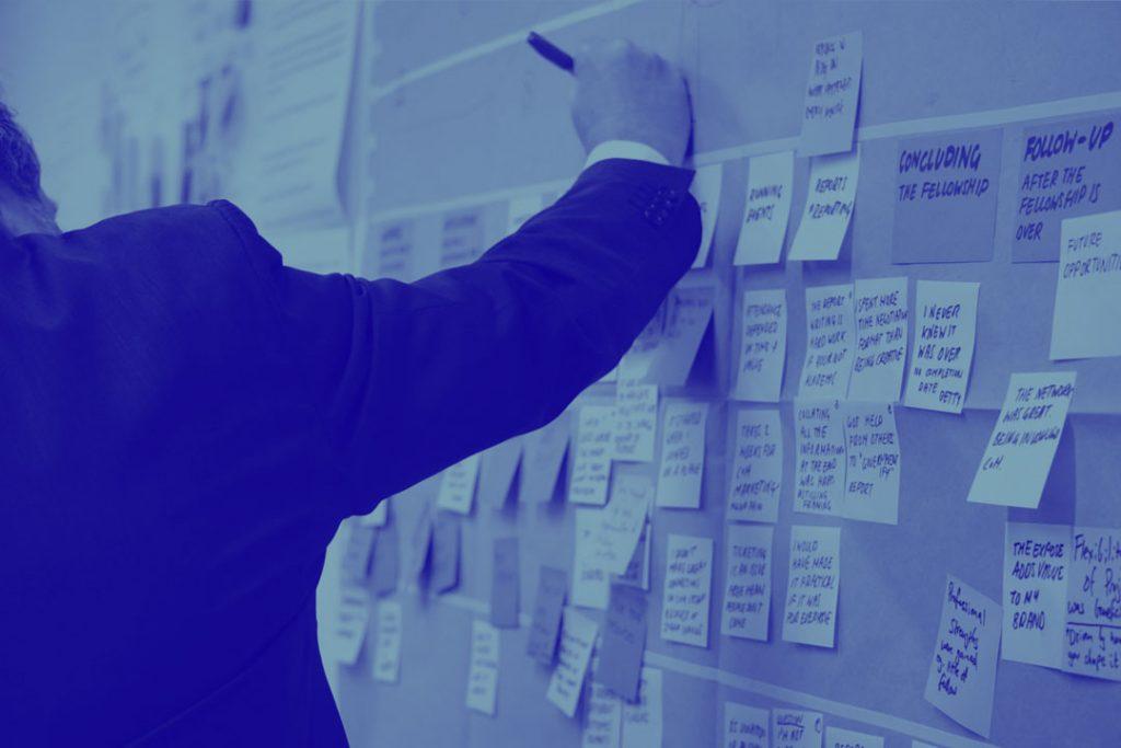 Einblick in Consulting mit agilen Arbeitsmethoden