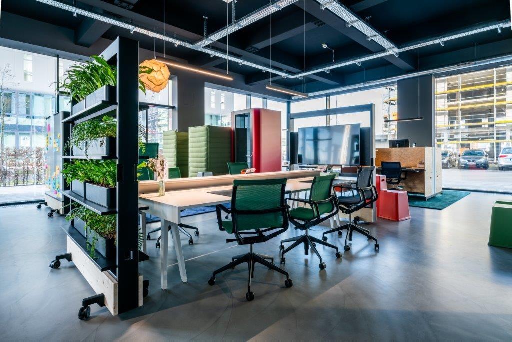 Nutze unserer Räumlichkeiten für dein StartUp