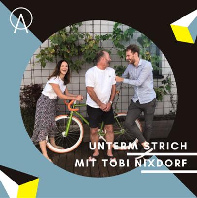 Unterm Strich Folge #017: Woher kommt der Hype ums Fahrradfahren? – Wir fragen Tobi Nixdorf von Toni Bike.