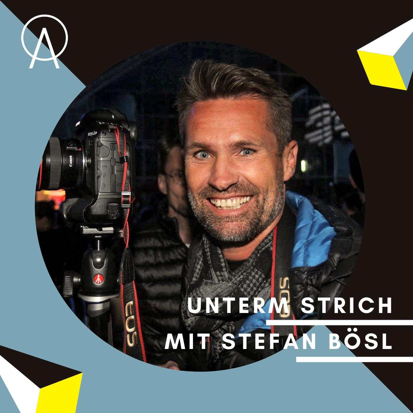 Unterm Strich Folge #033: Behind the scenes mit Stefan Bösl