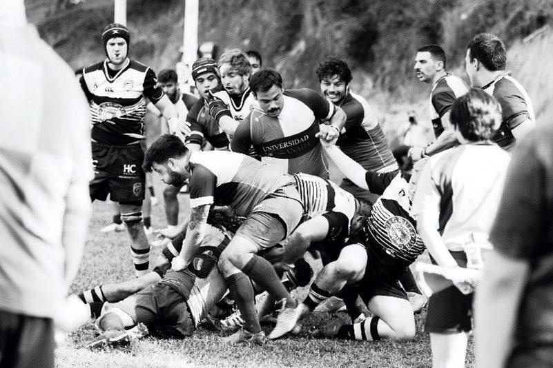 Bild aus einem Rugby-Spiel