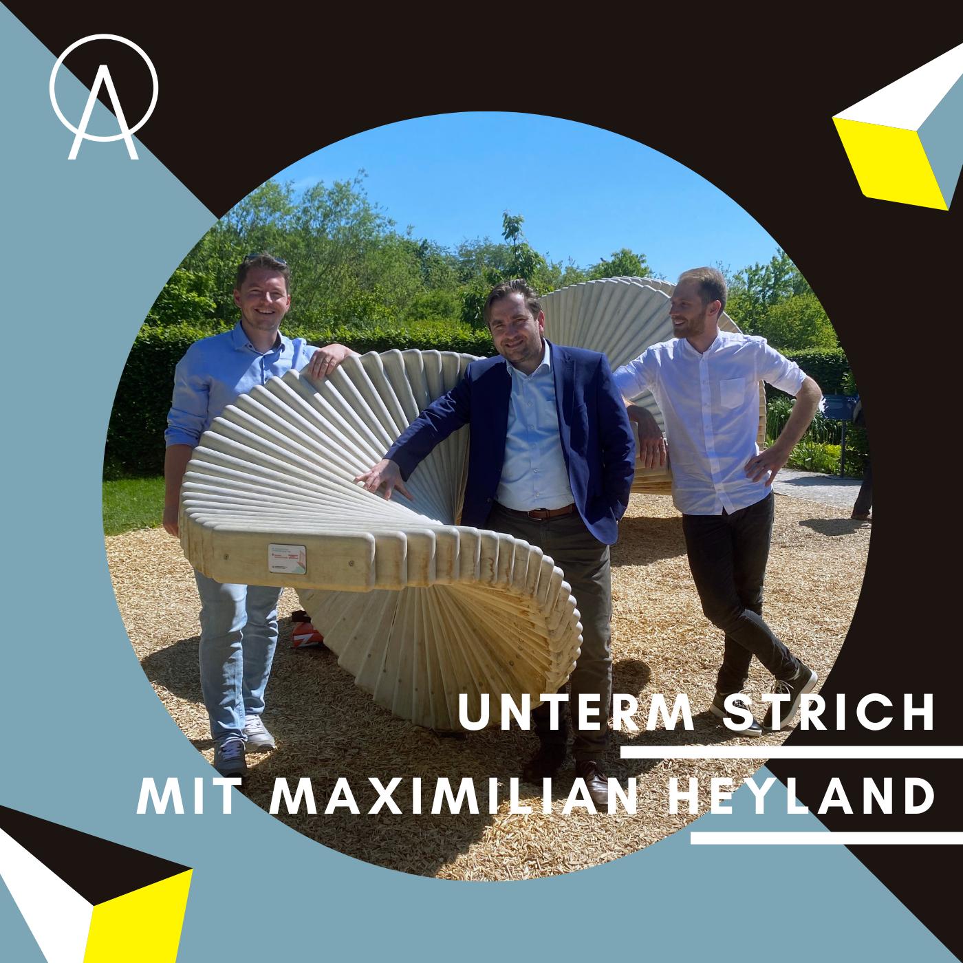 Unterm Strich Folge #051: Inspiration Natur auf der Landesgartenschau 2021 – Maximilian Heyland