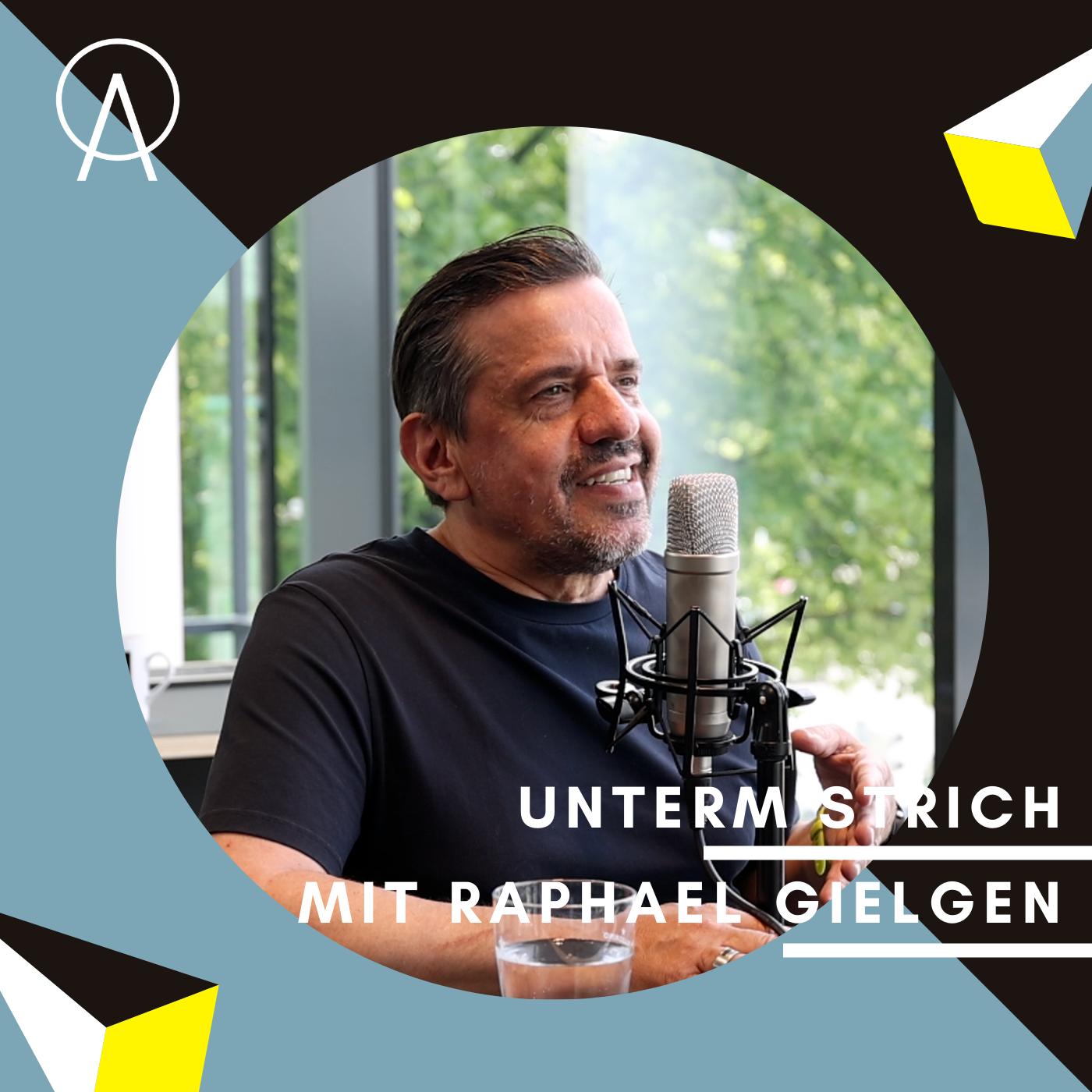 Unterm Strich Folge #052: Raphael Gielgen – Von Sternzeichen Rebell