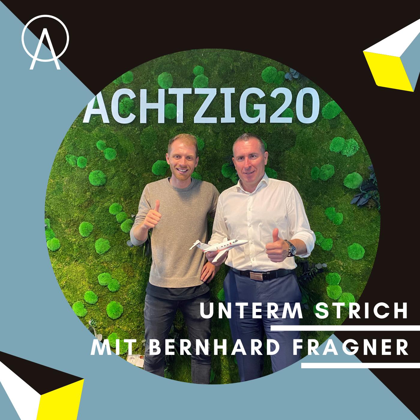 Unterm Strich Folge #055: Turn your passion into profession mit Bernhard Fragner von GlobeAir