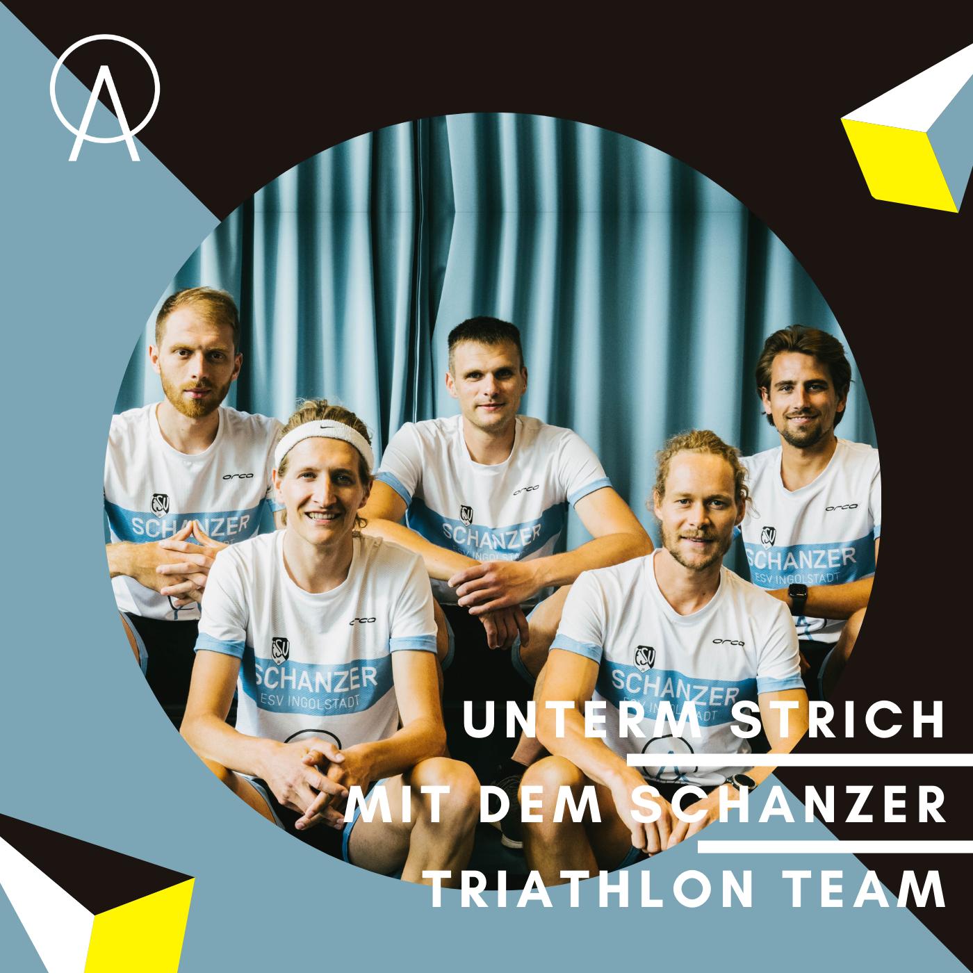 Unterm Strich Folge #057: Swim, Bike & Run – mit dem Schanzer Triathlon Ligateam Kapitän Markus Stöhr