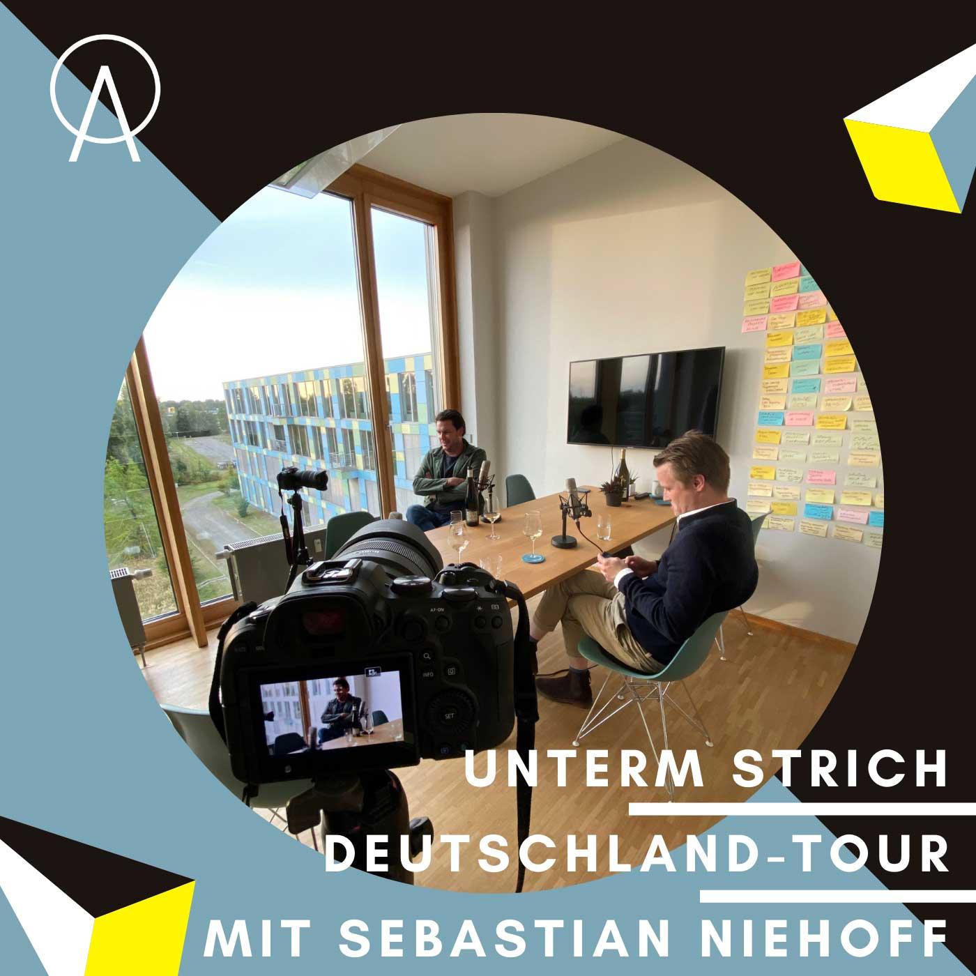 Unterm Strich Folge #063: Auftakt der Achtzig20-Deutschland-Tour – Wolfsburg mit Achtzig20-Geschäftsführer Sebastian Niehoff