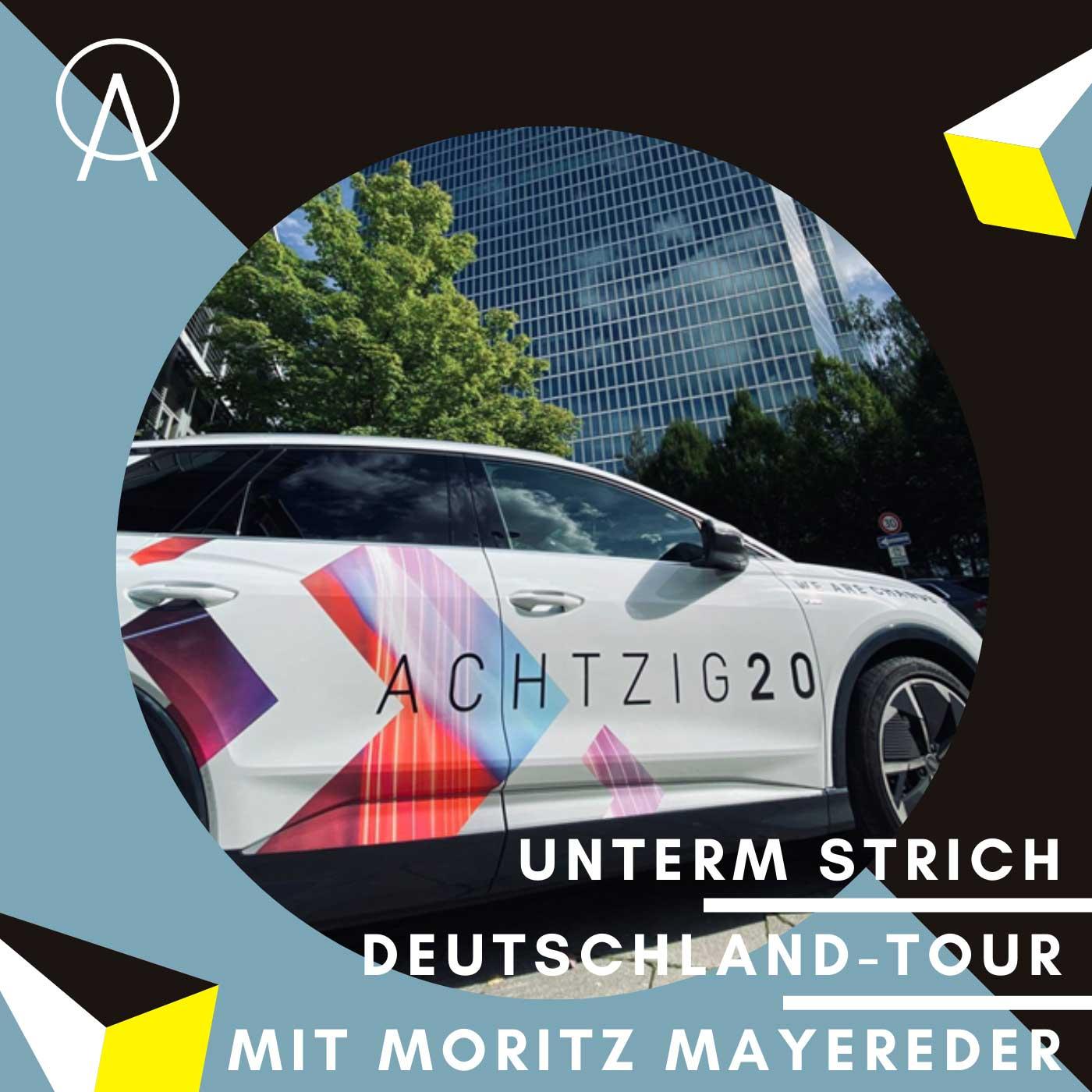 Unterm Strich Folge #064: Achtzig20-Deutschland-Tour Teil 2 – Darmstadt mit Softwareentwickler Moritz